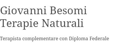 Giovanni Besomi Terapie Naturali